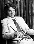 1970s Fashion Posters - Robert F. Kennedy Jr. Relaxes Poster by Everett