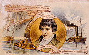 Fulton Framed Prints - Robert Fulton 1765-1815 Framed Print by Everett