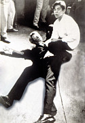 Assassination Art - Robert Kennedy, After Being Shot by Everett