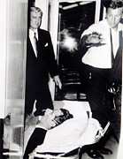 Featured Acrylic Prints - Robert Kennedy, Transported To Hospital Acrylic Print by Everett