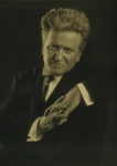 Democrats Framed Prints - Robert M. La Follette 1855-1925 Framed Print by Everett