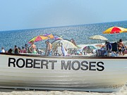 Mixed Media By Elvio - Robert Moses Beach by Laurence Oliver