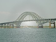 Mixed Media By Elvio - Robert Moses Bridge by Laurence Oliver