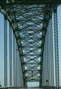 Bridges Photos - Robert Moses Causeway Bridge by Christopher Kirby