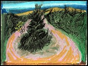 Moses Drawings - Robert Moses Park by Don Schaeffer