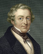 British Prime Minister Photos - Robert Peel, British Prime Minister by Sheila Terry
