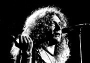 Robert Plant Prints - Robert Plant 1975 Print by Chris Walter