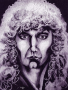 Robert Plant Prints - Robert Plant Print by Curtiss Shaffer
