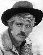 Sideburns Photo Framed Prints - Robert Redford (1936-) Framed Print by Granger