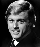 Portraits Photos - Robert Redford by Everett