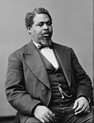 Civil Rights Posters - Robert Smalls 1839-1915, Achieved Fame Poster by Everett