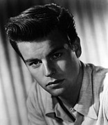 1950s Portraits Photo Metal Prints - Robert Wagner, 1950s Metal Print by Everett