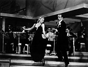 Astaire Art - Roberta, Ginger Rogers, Fred Astaire by Everett