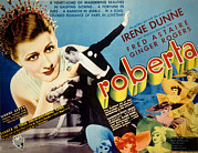 Lapel Framed Prints - Roberta, Irene Dunne, Ginger Rogers Framed Print by Everett