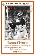 Roberto Clemente Digital Art - Roberto Clemente by  BlackMoxi
