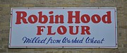 Signs Art - Robin Hood Flour by Daryl Macintyre