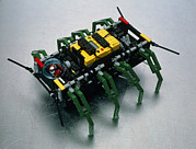 Lego Photo Prints - Robot Spider Constructed From Lego Print by Volker Steger
