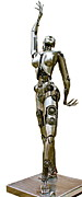 Nude Sculptures Sculpture Prints - Robotica III Print by Greg Coffelt