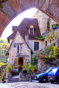 France Photos - Rocamadour by Rod Jones