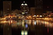 Lights Photo Originals - Rochester On The Genesee by Don Nieman