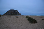Morro Bay Prints - Rock And Dunes Print by Heidi Smith