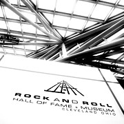 Rock And Roll Art - Rock and Roll Hall Of Fame by Kenneth Krolikowski