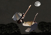 Flying Guitars - Rock Angels  by Eric Kempson