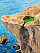 Landscapes - Rock by Augusta Stylianou