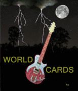 Simply Cards Prints - Rock Bands Print by Eric Kempson