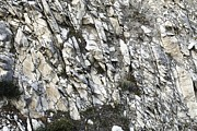 Bedding Prints - Rock Bedding In A Cliff Print by Dirk Wiersma