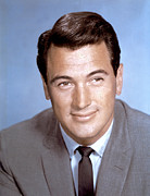 1950s Portraits Posters - Rock Hudson, C. 1950s Poster by Everett
