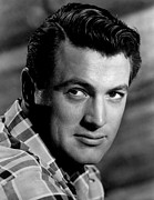 1950s Portraits Posters - Rock Hudson, C. Late 1950s-early 1960s Poster by Everett
