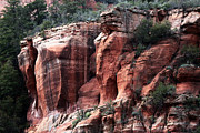 Oak Creek Canyon Prints - Rock Ledge Print by John Rizzuto