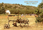 Ledge Digital Art - Rock Ledge Ranch Harvest Festival by Cristophers Dream Artistry