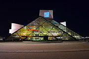 Rock And Roll Art - Rock n Roll hall of Fame Induction by Robert Harmon