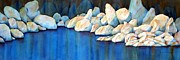 Watson Lake Paintings - Rock of Ages by Lyn DeLano