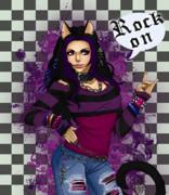 Rock On Print by KimiCookie Williams