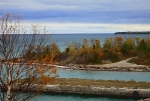 Hovind Prints - Rock Port in Alpena Michigan Print by Scott Hovind
