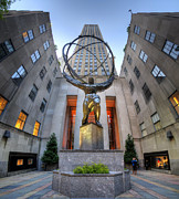 Popular Art Photos - Rockefeller Centre Atlas - NYC - Vertorama by Yhun Suarez