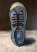 Shoe Painting Prints - Rocket Dog Print by Leah Saulnier The Painting Maniac