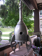 House Sculptures - Rocket by Gordon Wendling