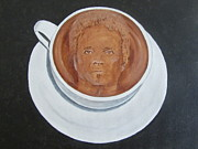 Aerosmith Paintings - Rockincoffee by Jeepee Aero