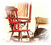 Rocking Chairs Digital Art - Rocking Chair by Candy Ellison