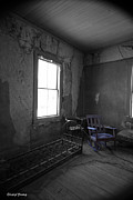 Abandoned House Prints - Rocking Chair Print by Cheryl Young