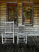 Rocking Chairs Digital Art - Rocking Chairs by Sue Pierson