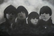 Beatles Mixed Media - RockNRoll Rushmore by Seth Cook