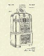 Rockola Phonograph Cabinet 1940 Patent Art Print by Prior Art Design