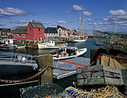 Lobster Buoy Framed Prints - Rockport - FM000070 Framed Print by Daniel Dempster