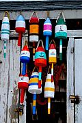 Rockport Bouys Print by Craig Incardone