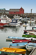 Massachusettes Prints - Rockport Harbor Print by John Greim
